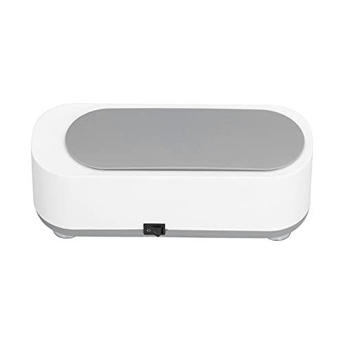 Limpiador ultrasónico portátil, Limpiador ultrasónico de Joyas Máquina ultrasónica portátil para el hogar para Limpiar anteojos, Relojes, Anillos, Collares, Monedas