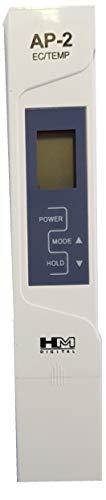 HM Digital AP-2 Originale Misuratore AP-2 Professionale, Tester per l\'acqua Combo Meter EC/TEMP µS & C°