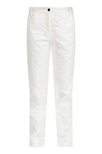 FINN-FLARE Damen Hose mit stylisher Rautensteppung White, XL