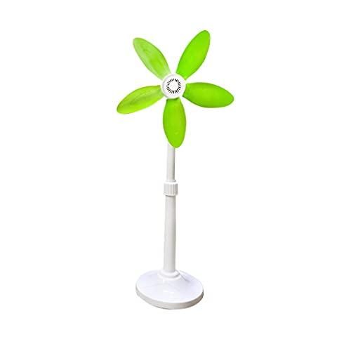 Ventilador de Pie Pequeño ventilador oscilante Ventilador silencioso ventilador de ventilador ventilador ventilador ventiladores para refrigeración y sueño para uso en la oficina en el hogar Ventilado