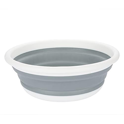 Lavabo plegable, lavabo de plástico Lavabo de plástico plegable, recipiente de comida portátil para picnic al aire libre, herramienta de lavado de verduras