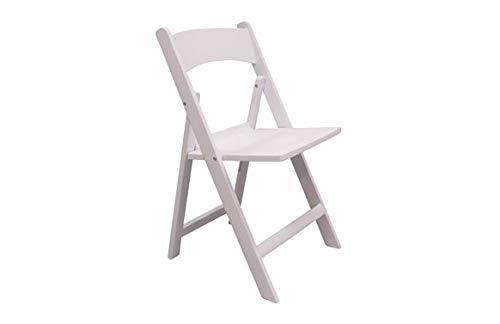 Chaise pliante résine White