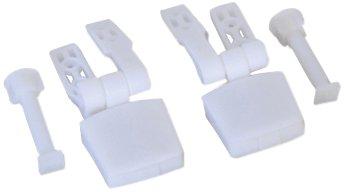 MSV 140333 bisagras de plástico para WC Tapa de Madera de Densidad...