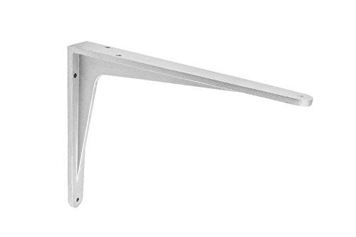 Gedotec Schwerlast-Konsole Aluminium Regalträger Winkel-Konsole - Sparta | 240 x 190 x 32 mm | Schwerlastträger Tragkraft 200 kg | Regalhalter Alu massiv | 1 Stück - Regalkonsole für die Wandmontage