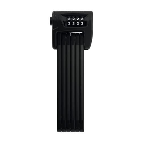 ABUS Bordo Lite Mini 6055C/60 BK Lucchetto, Adulti Unisex, Nero (rosso), Taglia unica