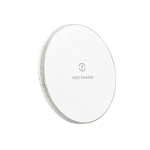 wojonifuiliy Wireless Charger Leuchtendes Ladepad 10W Qi Fast Kabellose Ladegerät [Sicher & Schnellladungen] Induktive Ladestation Kompatibel für iPhone 13,13 pro,13 Mini,13 Pro Max (Schwarz, 97MM)