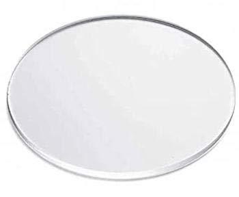 Signalétique.biz® - Cercle Disque Rond en Plexi Polycarbonate - Verre Acrylique Transparent - PMMA XT - Format Rond Différentes Tailles Disponible - 60 cm - Épaisseur 4 mm