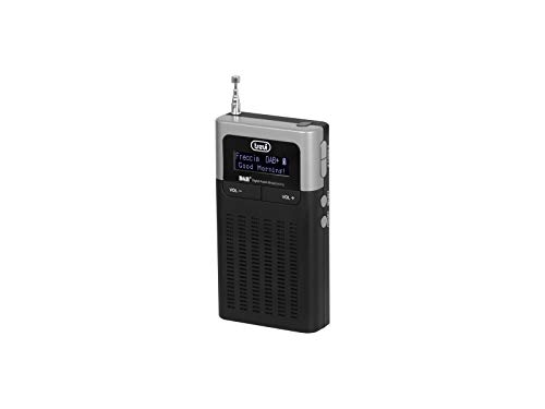 Trevi DAB 793 R Radio Portatile con Ricevitore Digitale, Sistema DAB   DAB+ e FM