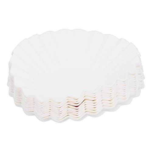 Papeles de filtro de café 100PCS Vaso de papel de filtro para verter apto para KEURIG K-DUO ESSENTIALS Filtros de papel de repuesto Accesorios para máquinas de café expreso