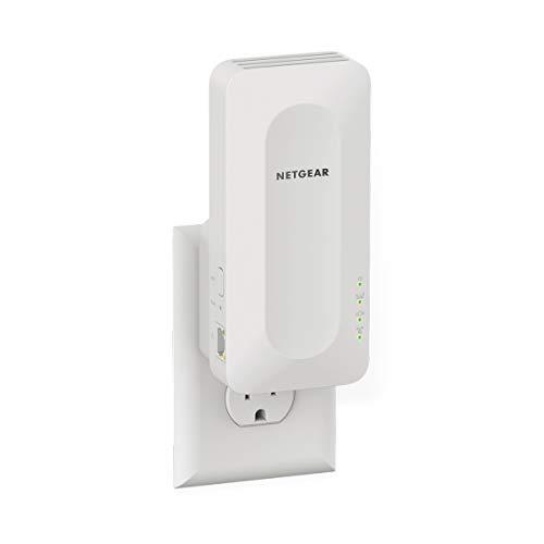 NETGEAR Repetidor WiFi 6 Mesh EAX15, Amplificador señal wireless AX1800, cobertura de hasta 100 m2 y 20 dispositivos