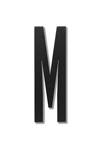 Design Letters 30201000M Lettres et Chiffres, Bois, Noir, Taille Unique
