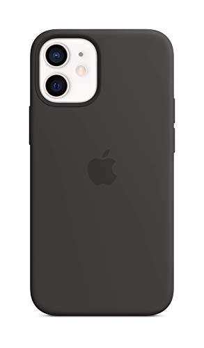 Apple SilikonCase mit MagSafe (für iPhone 12 Mini) - Schwarz