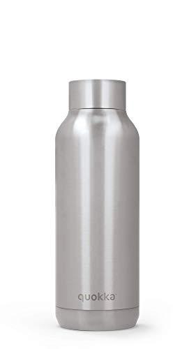 Quokka Solid - Steel 510 ML | Botellas De Agua Acero Inoxidable Sin BPA |Botella Térmica De Doble Pared - Mantiene el frío y el Calor para Niños y Adultos