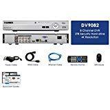 Lorex DV900 Series DV9082 8 Channel 4K HD MPX 2TB Security System DVR