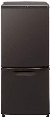 パナソニック 冷蔵庫 2ドア 138L 自動霜取り マットビターブラウン NR-B14DW-T