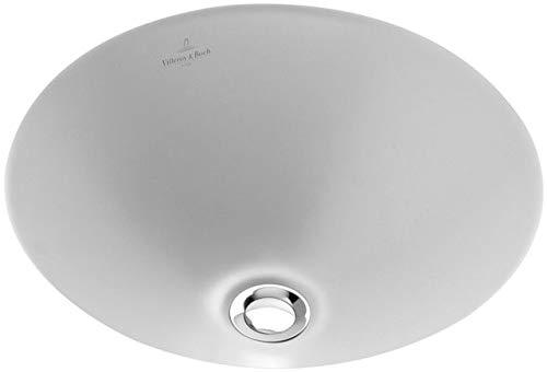Villeroy & Boch Unterbauwaschtisch Loop & Friends 618043 440mmDurchmesser Weiß Alpin, 61804301