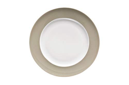 Rosenthal - Thomas - Sunny Day Frühstücksteller - Kuchenteller - Teller - Greige - Beige - Grau - Ø 22 cm