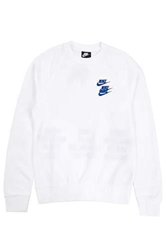 Nike - M NSW ft CRW col 100 DD0882 blanco XL