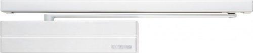ASSA ABLOY Türschließer DC 700 silber incl Gleitschiene DCG 195 & Montageplatte DCA 120, mit Cam-Motion® Technologie erfüllt die Anforderungen an barrierefreies Bauen