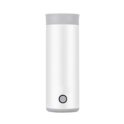 YVX Wasserkocher Tragbarer Mini-Wasserkocher Wasserthermischer Heizkessel Reise Edelstahl Tee Kaffee Milch Kochbecher