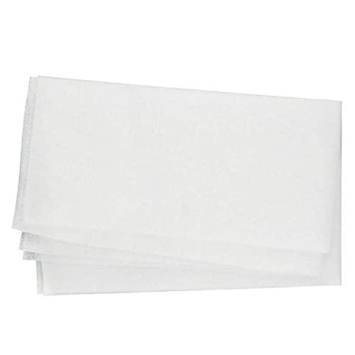 GeKLok Klimaanlagenfilter, Luftreinigungspapierfilterfach Papiergitter, 2 Stück/Beutel Reinigung Klimaanlagenfilter Skalierbares Ersatznetz Mesh Anti-Staub