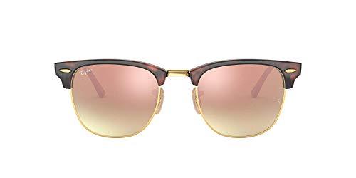 Ray-Ban Herren Rb 3016 Sonnenbrille, Mehrfarbig (Gestell: rot (havana),Gläser: kupferverlauf 990/7O), Small (Herstellergröße: 49)