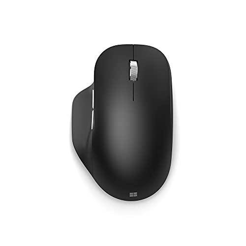 Microsoft Ratón ergonómico con Bluetooth, Color Negro