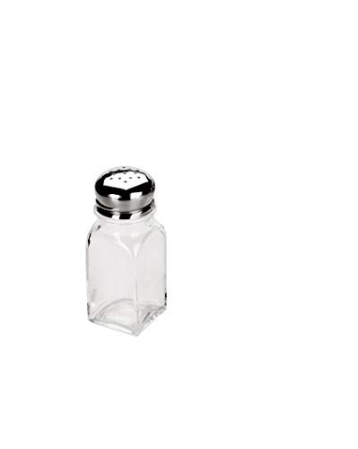 Ibili 755100Pfefferkrug / Salzstreuer groß , Transparent - 3,7 x 3,7 x 10 cm