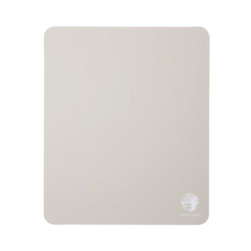 サンワサプライ ベーシックマウスパッド グレー natural base MPD-OP54GY 1個