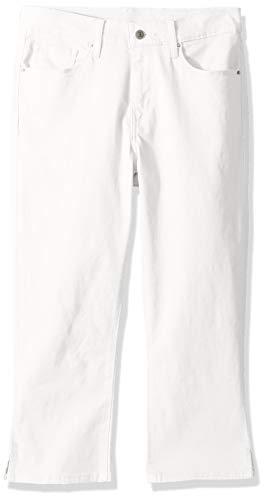 Levi's Women's Classic Capris, Simply White, 31 (US 12)