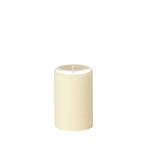 Yummi 4x6 Unscented Column Pillar Candle, Ivory, ea