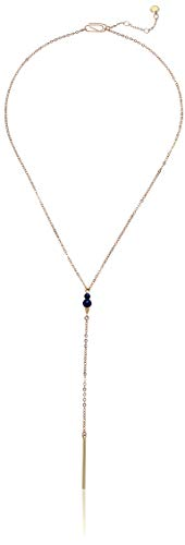 French Connection Pearl Y Necklace, Gold, One Size