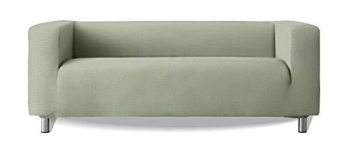 Sofabezug, Modell Klippan, Armlehnen, hochelastisch, weich, New York, Farbe 23 Hellgrün