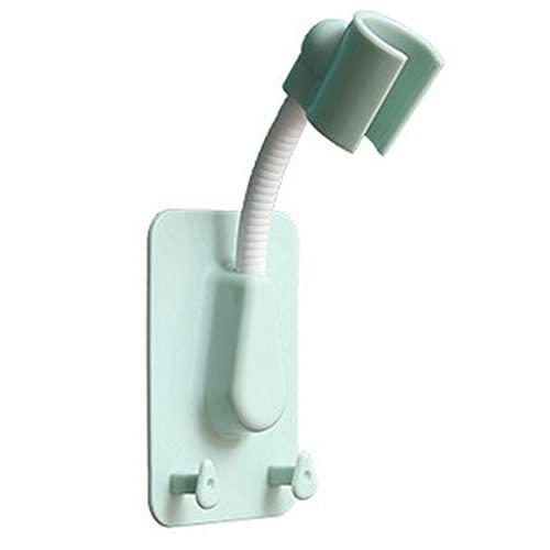 Honton - Supporto da parete per doccia, regolabile, per doccetta, per qualsiasi spazio in bagno, colore: verde