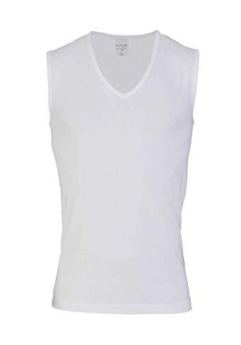 OLYMP Level Five Body fit Unterzieh- T-Shirt tiefer V-Ausschnitt Stretch weiß Größe L