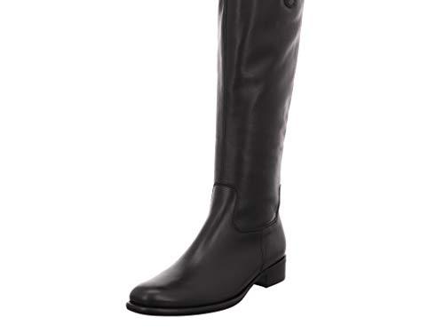 Gabor Fashion Stiefel in Übergrößen Schwarz 31.649.27 große Damenschuhe, Größe:43