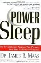 Power Sleep by Maas, James B., Wherry, Megan L., Axelrod, David J., Hogan, [Paperback]