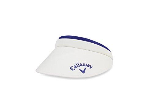 Callaway Damen 'Clip Visor Kappen Einheitsgröße weiß/violett