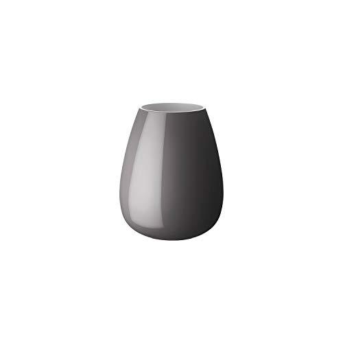 Villeroy & Boch Drop vaas Pure Stone, 22,8 cm, glas, grijs