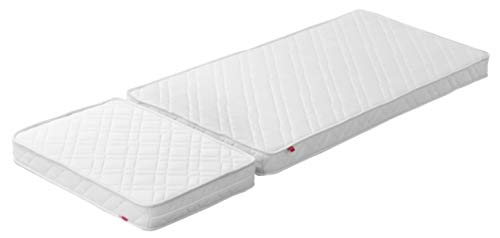 Flexa Matratze 70x140/190cm, White Junior
