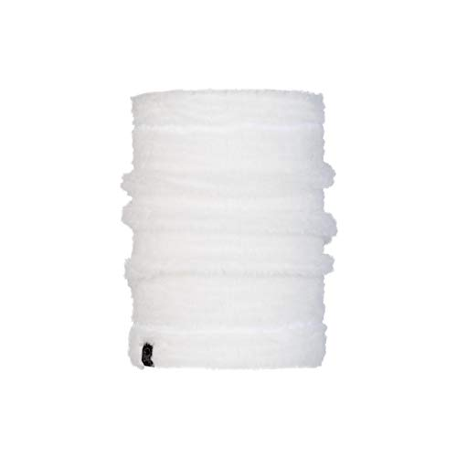 Buff Solid Cache-cou polaire thermique Femme Blanc FR : Taille Unique (Taille Fabricant : Taille One sizeque)