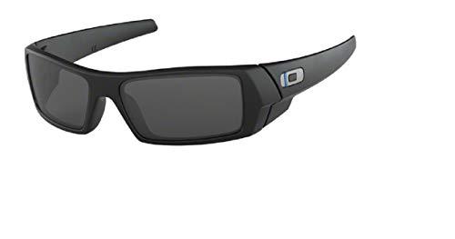 Oakley Gascan OO9014 901411 60M Matte Black/Grey Sunglasses For Men For Women+BUNDLE with Oakley Accessory Leash Kit