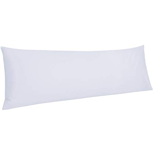 NTBAY 500 Thread Count Cotton Body Pillowcase, Super Soft...