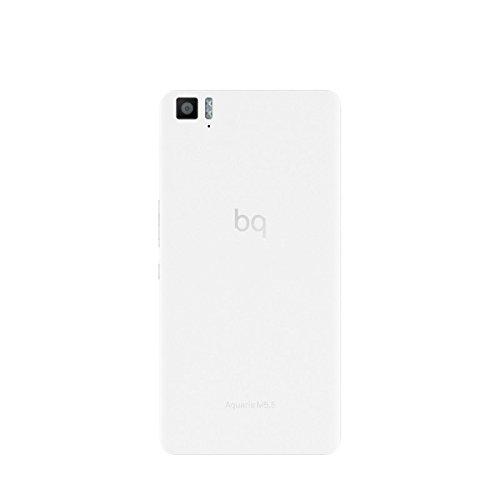 BQ Aquaris M5.5 - Smartphone de 5.5 pulgadas (4G, Wi-Fi, Bluetooth 4.0, Qualcomm Snapdragon 615 Octa Core A53 1,5 GHz, 16 GB de memoria interna, 3 GB de RAM, Android 5.1 Lollipop), blanco