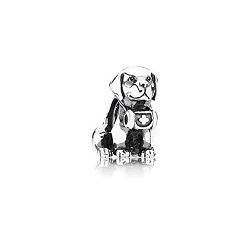 Regalo De Mujer S925 Plata De Ley Serie De Animales De Dibujos Animados Diseño del Zodiaco Encanto Simple Y De Moda con Cuentas DIY Accesorios para Hacer Joyas M24