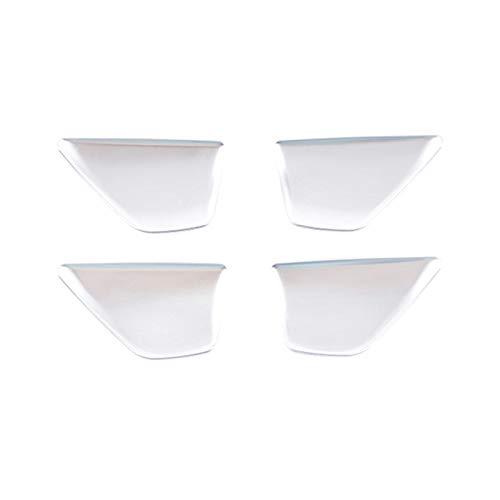 LIFMAGIC 자동차 인테리어 도어 그릇 커버판 맞 메르세데스 벤츠 C 클래스 W205 15-20E GLC W213X243 16-20(이름의 색상:실버)