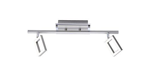 Paul Neuhaus Deckenleuchte, 2 x LED-Board / 5 W / 3000 K, Innenleuchte, IP20, stahl 6958-55