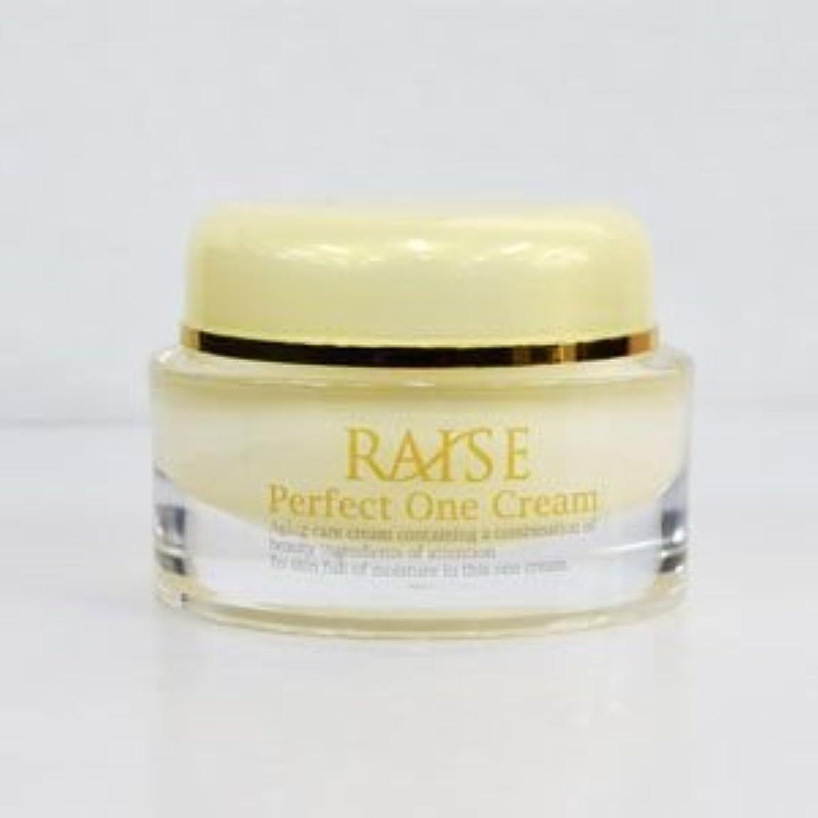世代滑りやすい先史時代のRAISE (レイズ) Perfect One Cream パーフェクトワンクリーム 活性型FGF 活性型EGF 馬プラセンタ コラーゲン オールインワン クリーム 50g