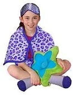 Jose Tzul Totally Me! Cozy Blanket Wraps - Purple Leopard - Toys R Us Exclusive (Purple)