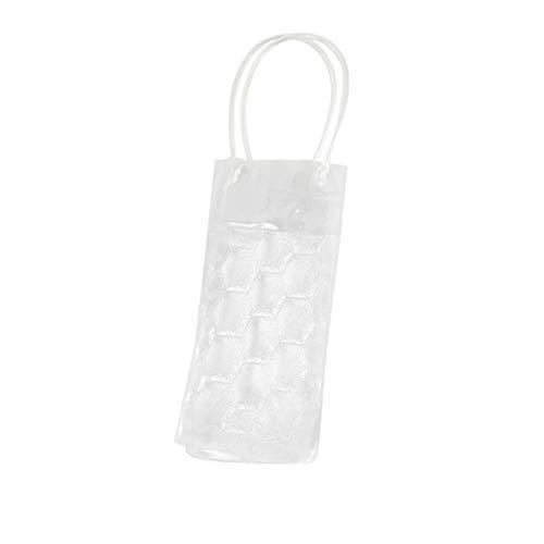 Jinxuny Tragbare Weinkühltasche Gefrierschrank Halter Beutel Kühler Tote verwendet EIS & Wasser Bierkühltasche Eisbeutel Wein Schnaps Kühler Werkzeug